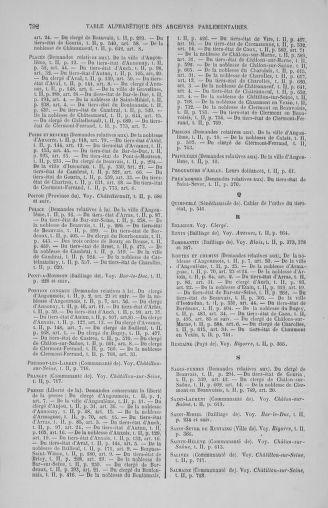 Tome 2 : 1789 – États généraux. Cahiers des sénéchaussées et baillages [Angoumois - Clermont-Ferrand] - page 792