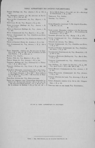 Tome 2 : 1789 – États généraux. Cahiers des sénéchaussées et baillages [Angoumois - Clermont-Ferrand] - page 793