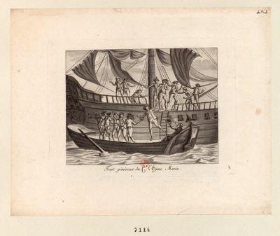 Trait généreux du C.n L'Epine Marin [estampe]