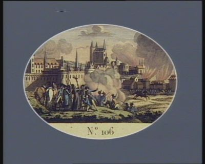N.o 106 29 juin. 11 messidor. Attaque de Nantes par les Vendéens... : [estampe]