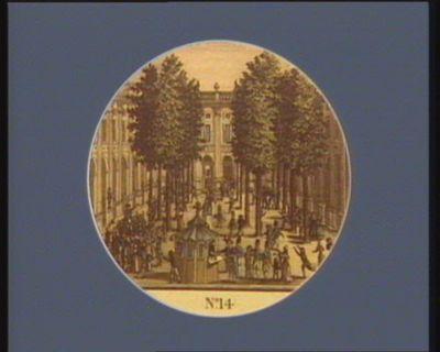 N.o 14 12 juillet. Motion de Camille Desmoulins, au Palais Royal... : [estampe]