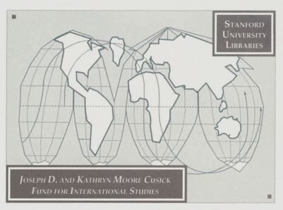 Joseph D. and Kathryn Moore Cusick Fund for International Studies