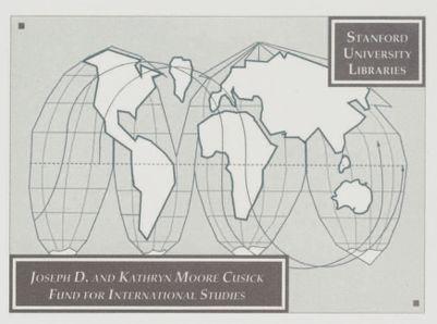 Joseph D. and Kathryn Moore Cusick Fund for International Studies
