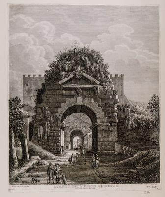 Via Appia, arco di Druso