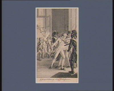 Gefangenehmung des Robespierre [estampe]