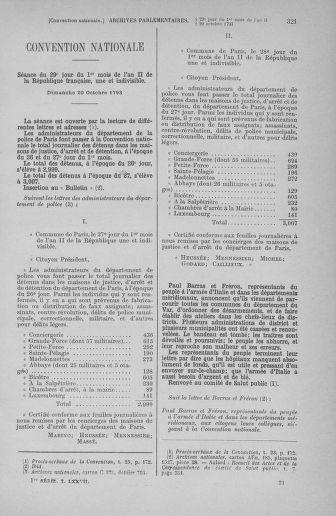 Tome 77 : Du 19 au 28 octobre 1793 - page 321