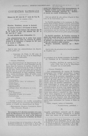 Tome 77 : Du 19 au 28 octobre 1793 - page 357