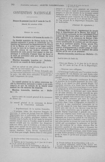 Tome 77 : Du 19 au 28 octobre 1793 - page 382