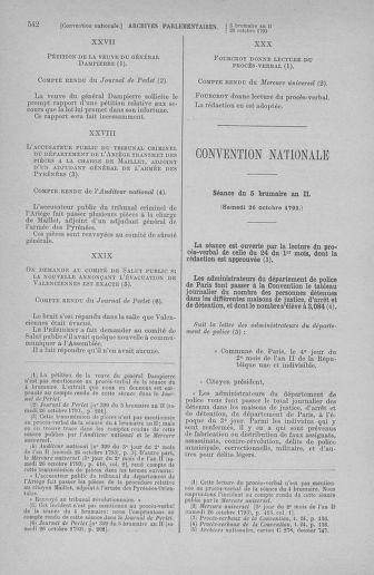 Tome 77 : Du 19 au 28 octobre 1793 - page 542