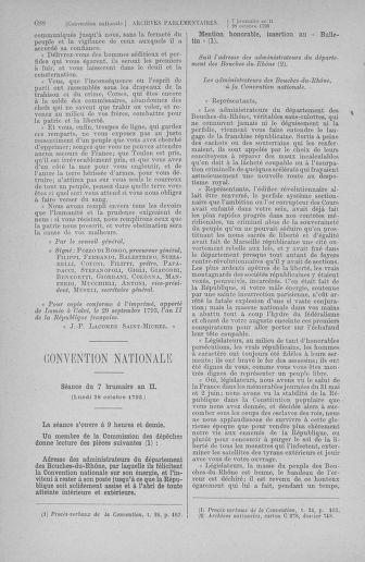 Tome 77 : Du 19 au 28 octobre 1793 - page 688