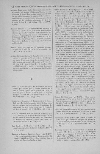 Tome 77 : Du 19 au 28 octobre 1793 - page 742