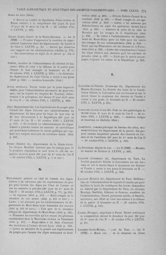 Tome 77 : Du 19 au 28 octobre 1793 - page 771