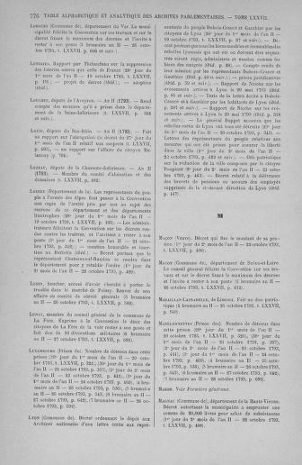 Tome 77 : Du 19 au 28 octobre 1793 - page 776