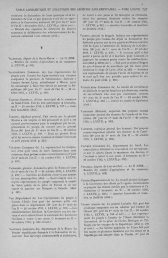 Tome 77 : Du 19 au 28 octobre 1793 - page 797