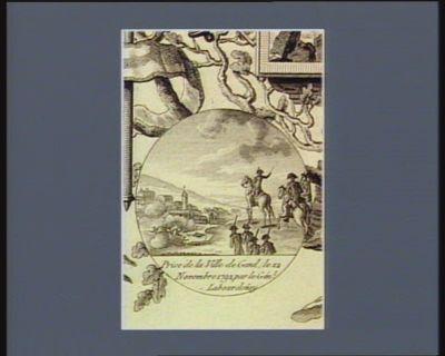 Prise de la ville de Gand, le 12 novembre 1792 par le gén.l Labourdon[n]ay [estampe]