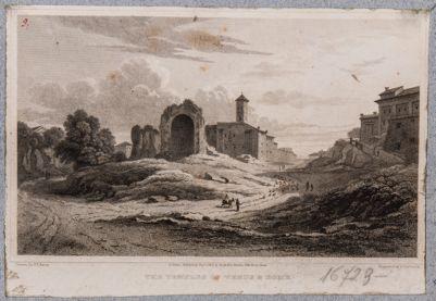 Tempio di Venere e Roma, abside