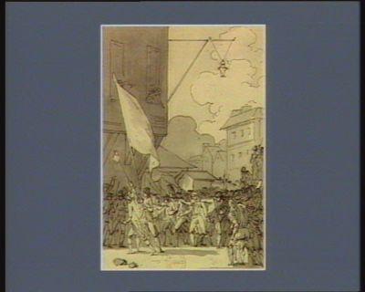[Cinquième événement du quatorze juillet <em>1789</em>] [dessin]