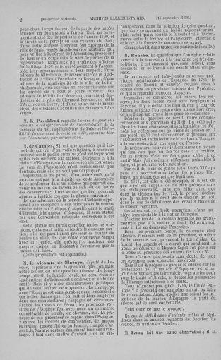Tome 9 : Du 16 septembre au 11 novembre 1789 - page 2