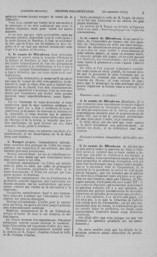 Tome 9 : Du 16 septembre au 11 novembre 1789 - page 3