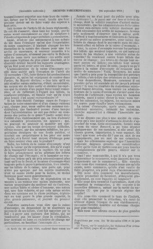 Tome 9 : Du 16 septembre au 11 novembre 1789 - page 19