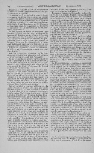 Tome 9 : Du 16 septembre au 11 novembre 1789 - page 22