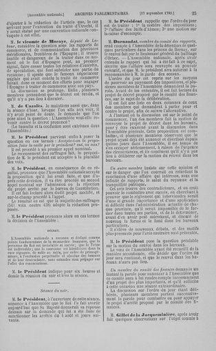 Tome 9 : Du 16 septembre au 11 novembre 1789 - page 25