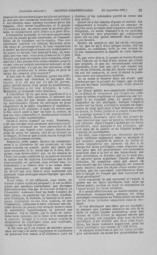 Tome 9 : Du 16 septembre au 11 novembre 1789 - page 27