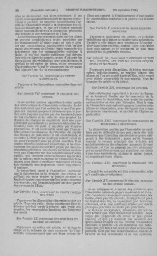 Tome 9 : Du 16 septembre au 11 novembre 1789 - page 30
