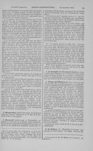 Tome 9 : Du 16 septembre au 11 novembre 1789 - page 35