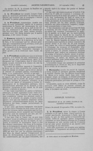 Tome 9 : Du 16 septembre au 11 novembre 1789 - page 41