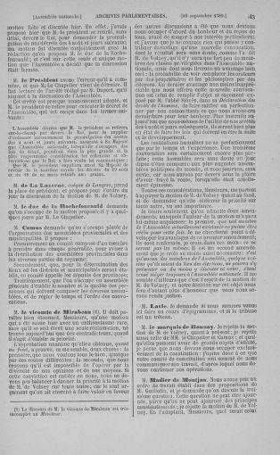 Tome 9 : Du 16 septembre au 11 novembre 1789 - page 43