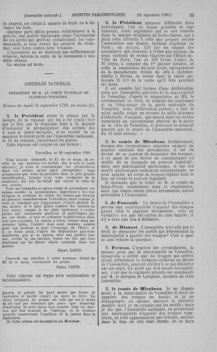 Tome 9 : Du 16 septembre au 11 novembre 1789 - page 53