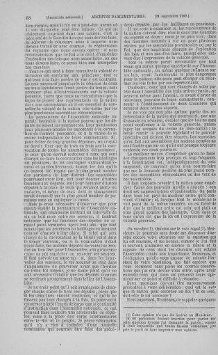Tome 9 : Du 16 septembre au 11 novembre 1789 - page 68