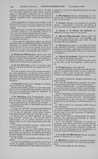Tome 9 : Du 16 septembre au 11 novembre 1789 - page 124