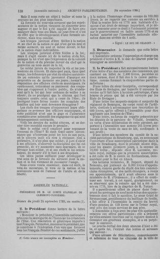Tome 9 : Du 16 septembre au 11 novembre 1789 - page 138