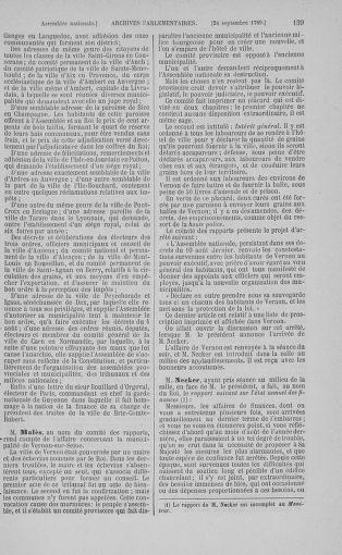 Tome 9 : Du 16 septembre au 11 novembre 1789 - page 139