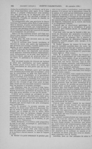 Tome 9 : Du 16 septembre au 11 novembre 1789 - page 188