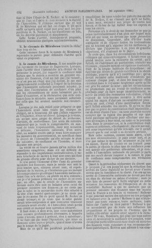 Tome 9 : Du 16 septembre au 11 novembre 1789 - page 194