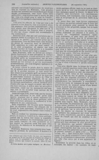 Tome 9 : Du 16 septembre au 11 novembre 1789 - page 198