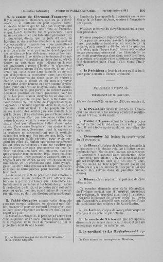 Tome 9 : Du 16 septembre au 11 novembre 1789 - page 201