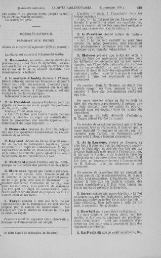 Tome 9 : Du 16 septembre au 11 novembre 1789 - page 219