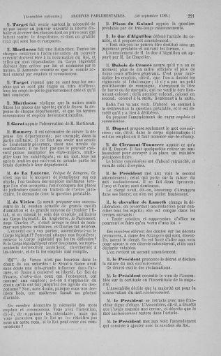 Tome 9 : Du 16 septembre au 11 novembre 1789 - page 221