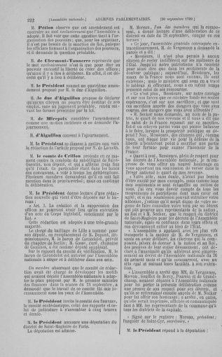 Tome 9 : Du 16 septembre au 11 novembre 1789 - page 222