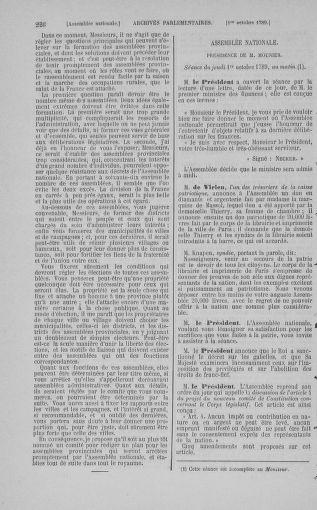 Tome 9 : Du 16 septembre au 11 novembre 1789 - page 226