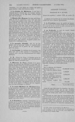 Tome 9 : Du 16 septembre au 11 novembre 1789 - page 234
