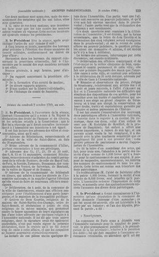 Tome 9 : Du 16 septembre au 11 novembre 1789 - page 239