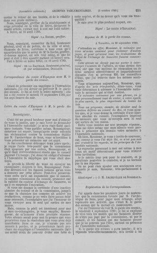 Tome 9 : Du 16 septembre au 11 novembre 1789 - page 253