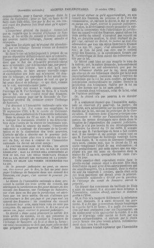Tome 9 : Du 16 septembre au 11 novembre 1789 - page 255