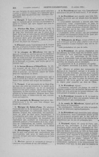 Tome 9 : Du 16 septembre au 11 novembre 1789 - page 338