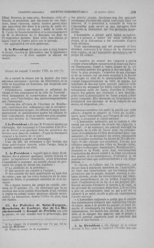 Tome 9 : Du 16 septembre au 11 novembre 1789 - page 339